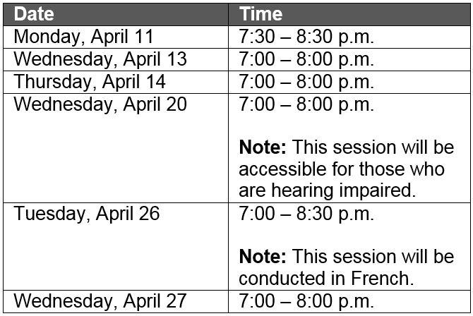 mcys autism funding webinar schedule